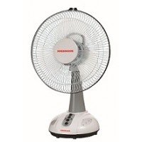 Sowbaghya Rechargeable Table Fan 16 inch