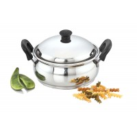Ultima Induction Base Stainless Steel 2Pcs Cook 'n' Serve Pot