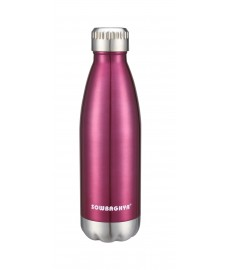 500ml Pearl Stainless Steel Flask(Pink)