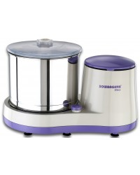 DIVA Wet Grinder (violet with white) with Attachment 2L