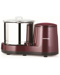 Diva Wet Grinder Maroon - 2 Ltr with attachments