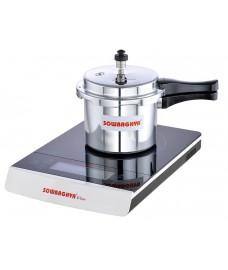 Induction Base Aluminum Pressure Cooker 3 Ltr